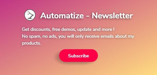 Automatiser - Newsletter